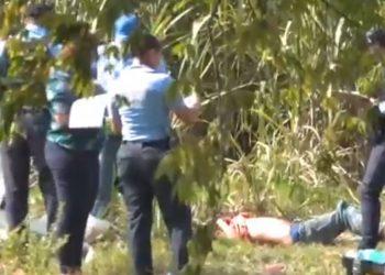 El cuerpo de Juan Ramón Guillén García de 36 años fue encontrado en una cañera.