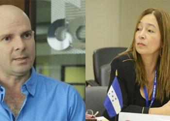 Pedro Barquero (director ejecutivo de la CCIC) y Rocío Tábora (Ministra de Finanzas) protagonizaron este lunes un cruce de opiniones en Twitter.