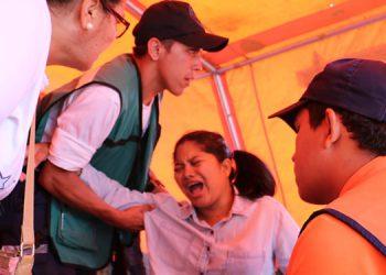 El personal de Conapremm ha ofrecido varias atenciones médicas a la cuidadanía en los desfiles.