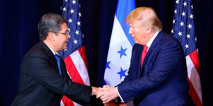 """El Presidente Hernández ha reiterado que """"la seguridad de Estados Unidos está directamente relacionada con Honduras y Centroamérica."""