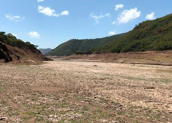 La Concepción es la represa que se secará primero, de no llover en los próximos días.