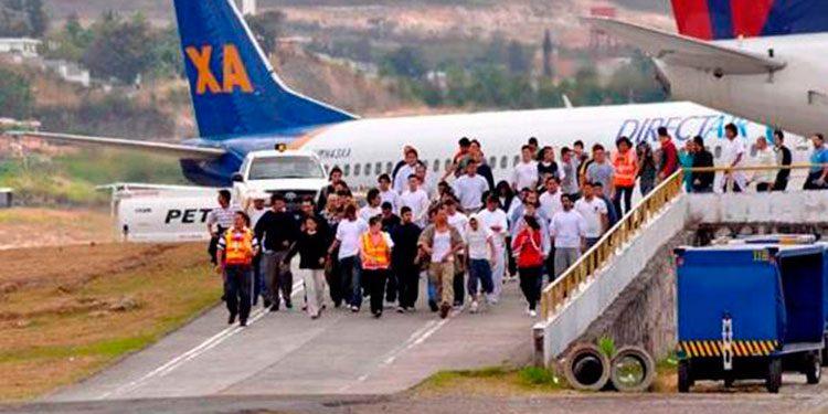 Más de 2 mil hondureños serán retornados esta semana
