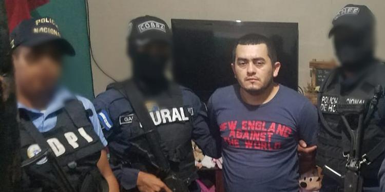 Darwin Pineda Villanueva de 25 años estarían implicado en unos 14 asesinatos en el occidente de Honduras.