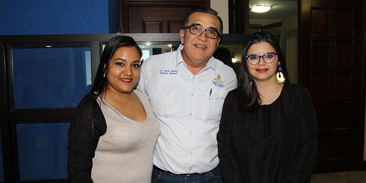 Melody Sadloo, Óscar Gómez, Valerie Sunsin.