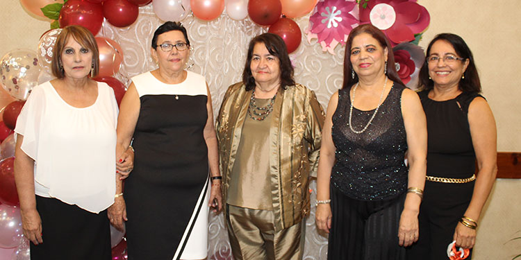Ana Vilma Torres, Sandra Sandra Arguello, Maria de la Paz Santos.