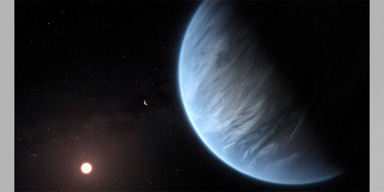 Encuentran agua en un exoplaneta que podría ser habitable