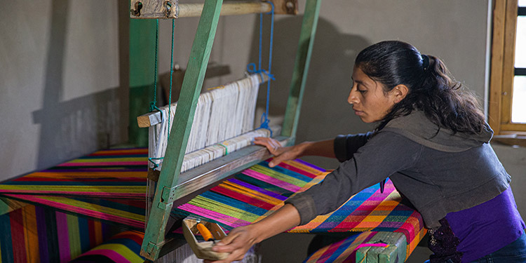 La técnica ancestral utilizada para elaborar los telares de Intibucá.