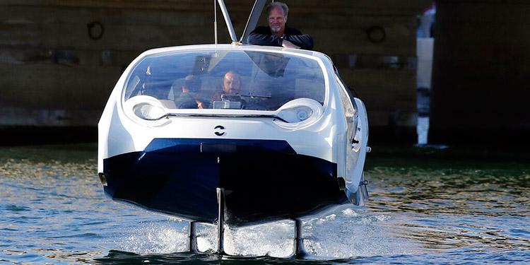Los taxis acuáticos que prometen ser el futuro de la movilidad