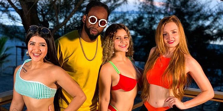 """""""Big Nango"""" es un cantante urbano muy popular en el litoral atlántico e Islas de la Bahía."""