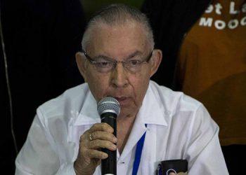 Carlos Tünnermann,  coordinador de la opositora Alianza Cívica por la Justicia y la Democracia.