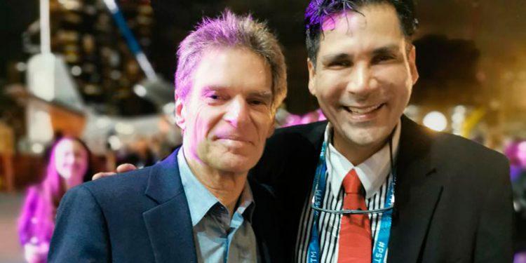El presidente de la ASPS, Allan Matarasso, y el doctor González