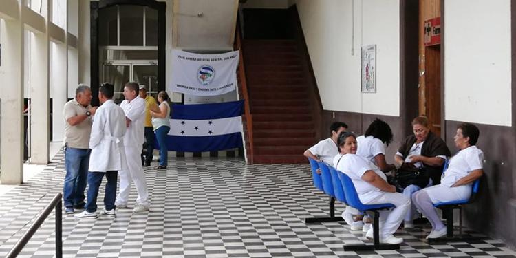 Hospital San Felipe, Tegucigalpa.