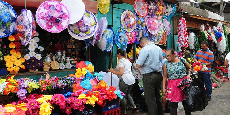 A 25 y 30 lempiras venden las flores para los muertos - Diario La Tribuna