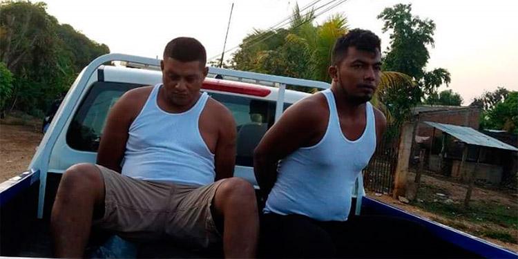Los sospechosos fueron remitidos a la Fiscalía en Olancho.