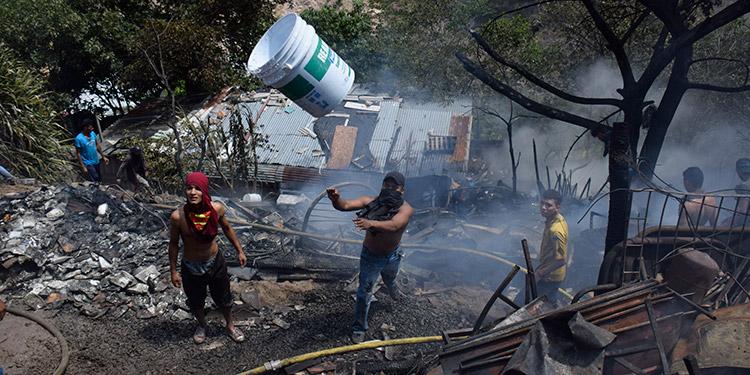 Los incendios estructurales han aumentado el doble este año, el mal manejo de aparatos, descuidos, poca cultura de seguridad, provocan desgracias.