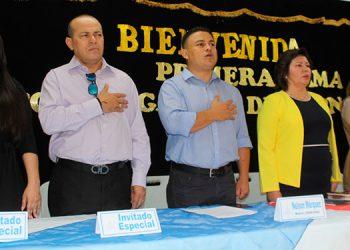 El corte de cinta fue presidido por el ministro de la Secretaría de Desarrollo Comunitario, Agua y Saneamiento (Sedecoas), Nelson Márquez.