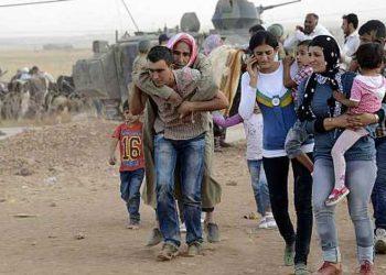 Refugiados Kurdos.