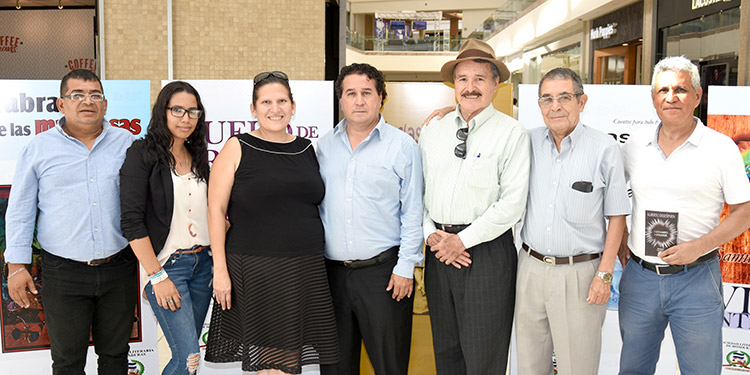 Javier Vindel, Dimitri Fonseca, Nancy Lara Smart, Alberto Destephen, Jorge Paz, José Francisco López, Jorge Arturo Destephen.
