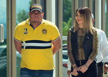 Tras la decisión del juez, la pareja fue remitida a Támara, por el delito de lavado de activos.