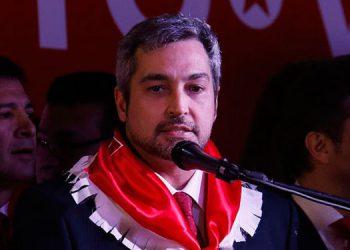 Mario Abdo Benítez, presidente de Paraguay. EFE