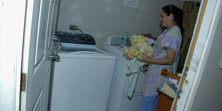 La vida útil de la lavadora de los neonatos está llegando a su vida útil.