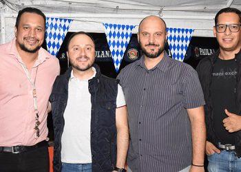 Carlos Cerrato, Joel Muchnik, Eduardo Soler, Frank Varela.