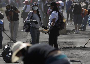 Durante los últimos días se organizaron masivas protestas en Ecuador.