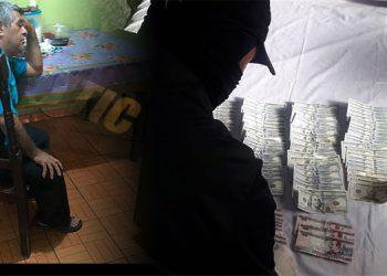 Al hacer el arresto, lo encontraron en poder de 12 mil dólares en efectivo escondidos en un compartimiento falso.