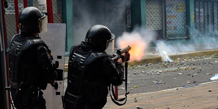 Resultado de imagen de represión en ecuador