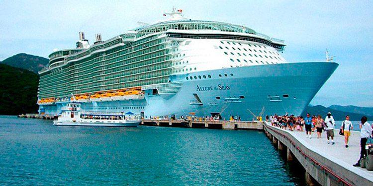 La seguridad es importante por la llegada de cruceros a Roatán.