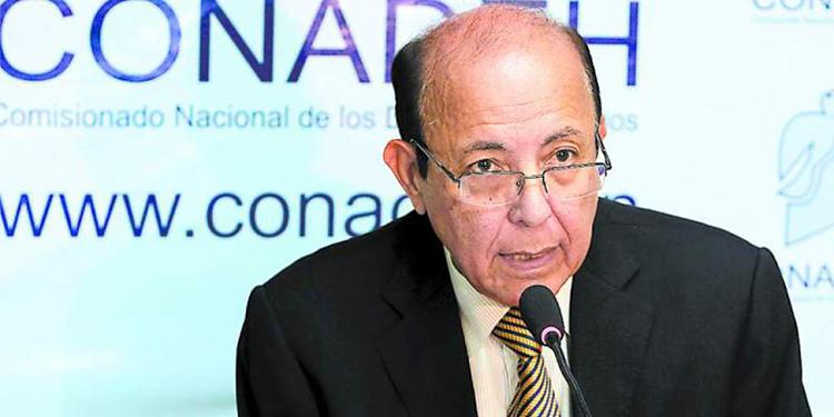 Roberto Herrera Cáceres, titular del CONADEH.
