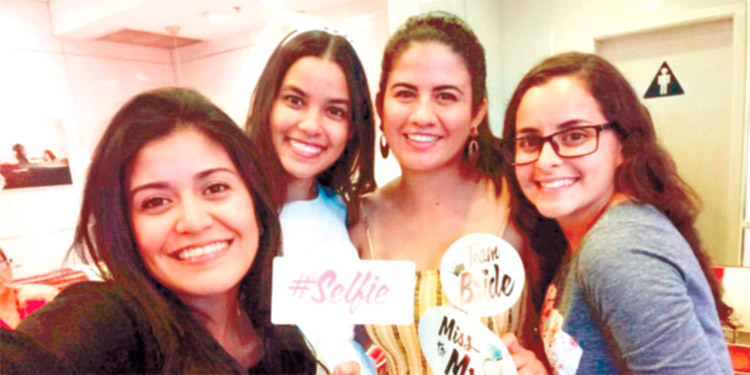 Fabiola Villatoro, Seidy Rivera, Kathia Ferrufino, Katherin Velásquez.