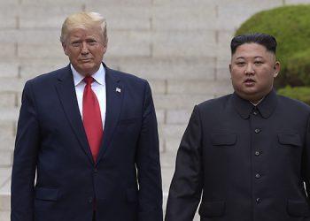 Donald Trump y  Kim Jong Un se reunieron por última vez en junio de este año.