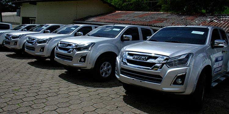 Gavi-La Alianza para las Vacunas realizó la donación de 20 vehículos a las Regiones Sanitarias de la Secretaria de Salud (Sesal).