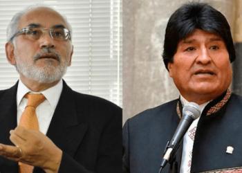 Carlos Mesa y Evo Morales.