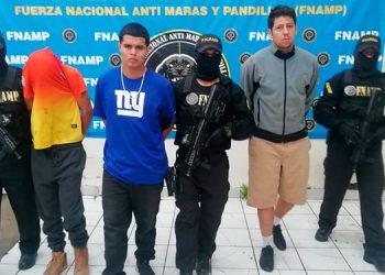 Cinco miembros de la pandilla 18 fueron arrestados por la FNAMP, supuestamente se disponían a realizar una masacre.