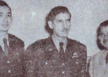 1   La Junta Militar de Gobierno del 21 de octubre de 1956 mayor Roberto Gálvez, Cnel. Héctor Caraccioli y Gral. Roque Rodríguez.