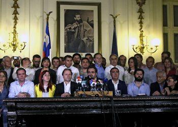 Líderes políticos de Chile alcanzaron acuerdos la madrugada de este viernes tras casi 30 días de protestas.