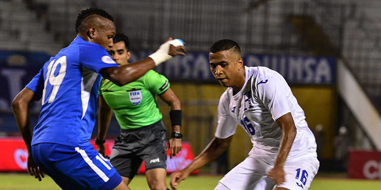 Honduras va con toda la energía para vencer a Martinica.