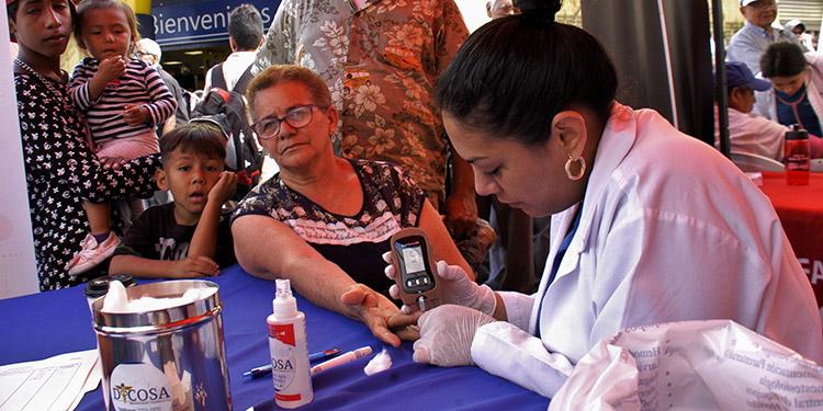 Más de un millón de hondureños estaría padeciendo de algún tipo de diabetes.