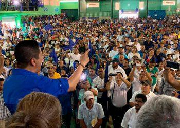 El presidente del CCPN, Reinaldo Sánchez, manifestó que ha quedado demostrado que son el único partido capaz de montar y organizar varias preconvenciones.