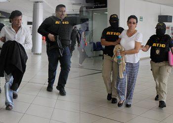 Waldina Ortega y José Flores Nájera fueron trasladados al Juzgado de Jurisdicción Nacional.
