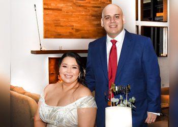 Daniriam  y José Israel  contrajeron matrimonio civil en Restaurante La Cumbre