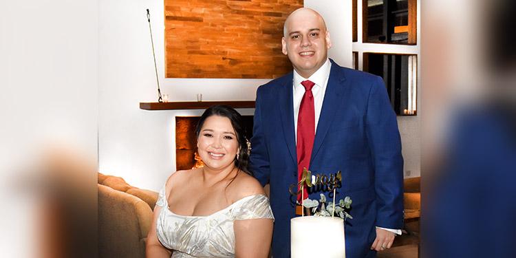 Daniriam Ortiz y José González celebran su boda civil - La Tribuna.hn