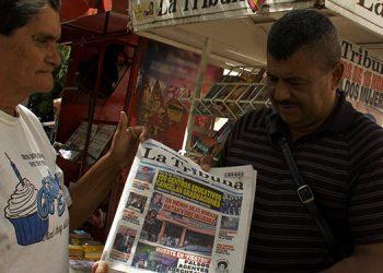 Con la Asociación Nacional de Canillitas de Honduras los emprendedores buscan acuerdos con los medios, para fortalecer las ventas de periódicos.