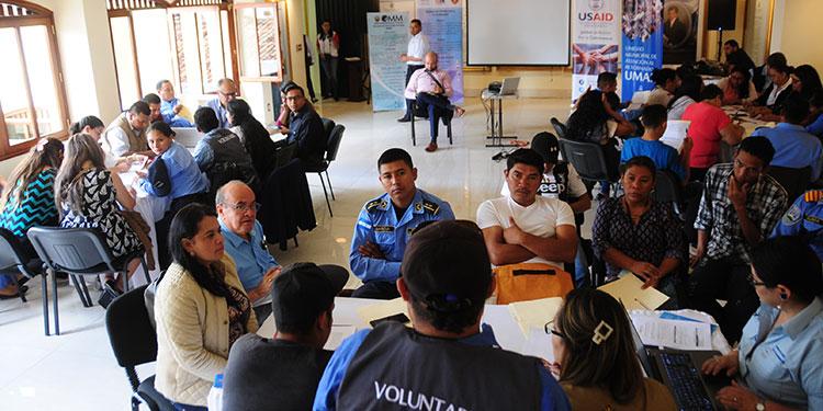 Con las capacitaciones, USAID busca mejorar los índices de convivencia en los municipios Tipo A como La Ceiba, Tela, Choloma, San Pedro Sula y Tegucigalpa.