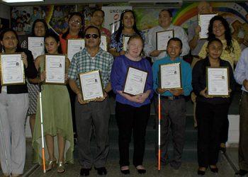 Al menos 15 miembros de la Uncih reciben certificación del Infop en diferentes áreas.