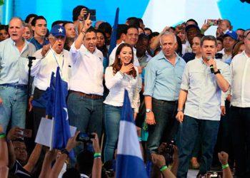 El Presidente Juan Orlando Hernández llamó a la unidad y afirmó que en la convención ha quedado demostrado que el nacionalismo está más vivo que nunca.