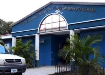Abiertas amanecieron los accesos a la Dirección Departamental en Francisco Morazán. Actividades se normalizarán este martes.