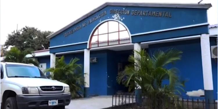 La Dirección Departamental de Francisco Morazán fue una de las primeras intervenidas este viernes.